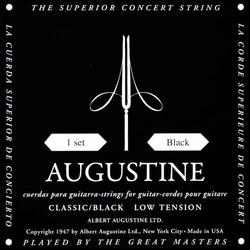 Augustine Black Snaren voor Klassieke Gitaar - Normaal/Lage Spanning