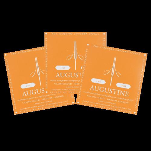 Augustine Classic Gold Snaren - Medium Spanning