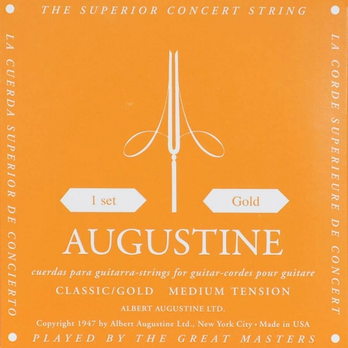 augustine classic gold snaren
