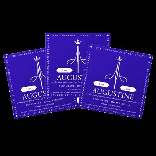 Augustine Regal Blue Triopack Klassieke Snaren