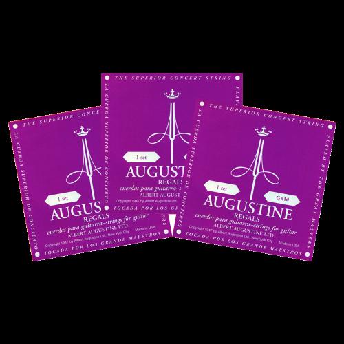 Augustine Regal Gold Triopack Klassieke Snaren