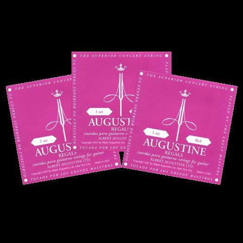 Augustine Regal Red Triopack Klassieke Snaren