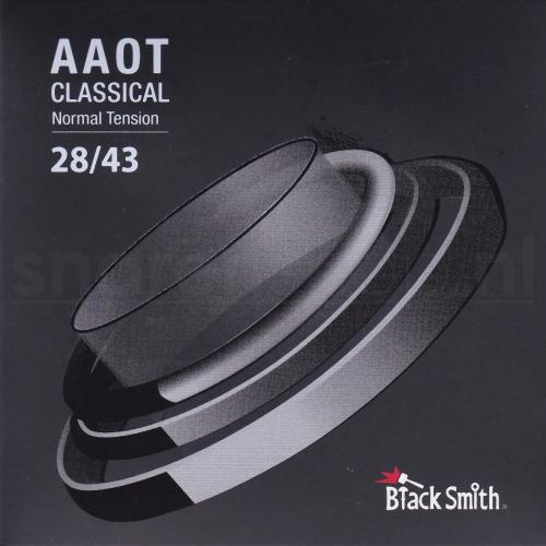 Blacksmith AA80N Gecoate Klassieke Gitaarsnaren - Normale Spanning