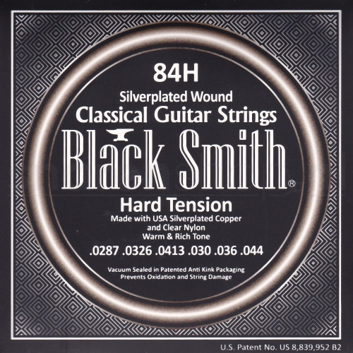 Blacksmith 84H Klassieke Gitaarsnaren - Hoge Spanning