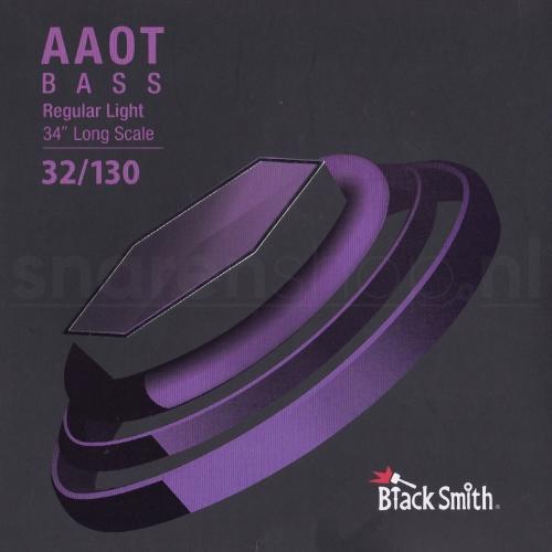 BlackSmith EEAB32130 Nickel Round Wound Bassnaren (32-130) Coated