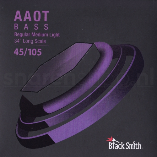 BlackSmith EEAB45105 Nickel Round Wound Bassnaren (45-105)