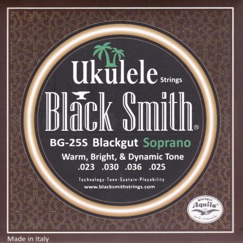 BlackSmith BG25S Blackgut Sopraan Ukulele Snaren (23-25)