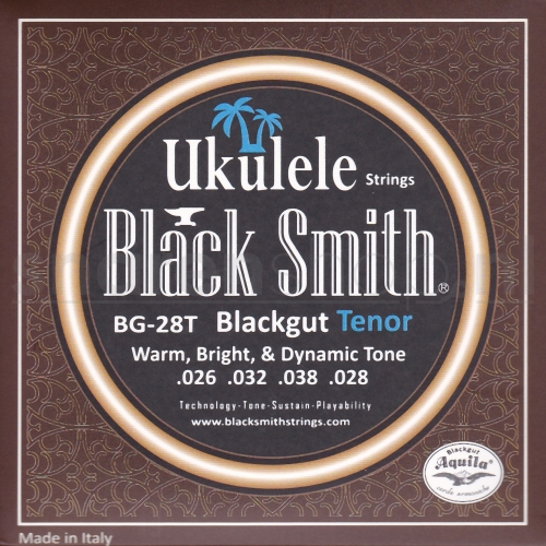 BlackSmith BG28T Blackgut Tenor Ukulele Snaren (26-28)