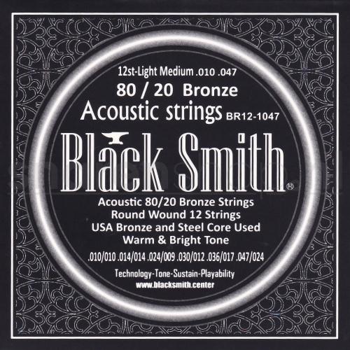 Blacksmith snaren voor 12-snarige akoestische gitaar