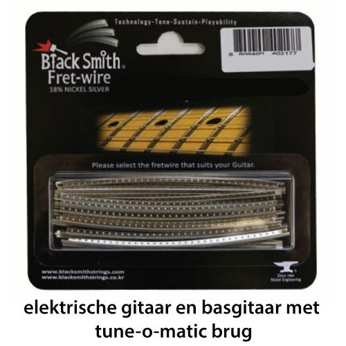 BlackSmith DHP-2403 Fretdraad Narrow/High Tune-O-Matic Gitaar en Basgitaar (Set 24 stuks)