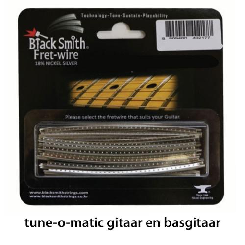 BlackSmith DHP-2903 Fretdraad Heavy Jumbo Tune-o-Matic Gitaar en Basgitaar (Set 24 stuks)