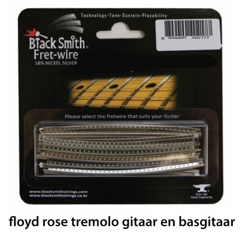 BlackSmith DHP-2904 Fretdraad Heavy Jumbo Floyd Rose Gitaar en Basgitaar (Set 24 stuks)
