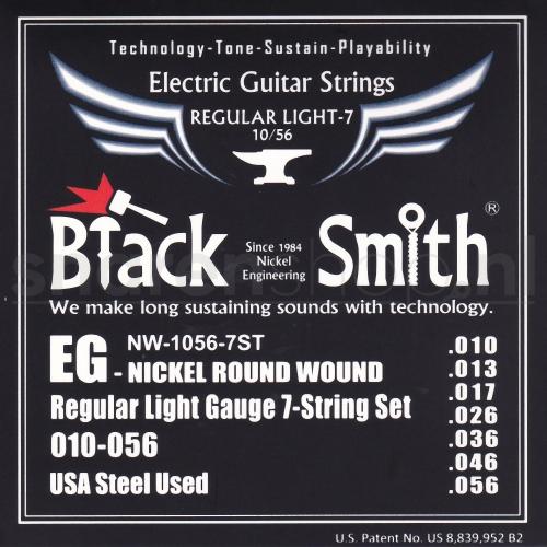 BlackSmith NW-1056-7st Elektrische Gitaarsnaren (7-Snarig) (10-56)