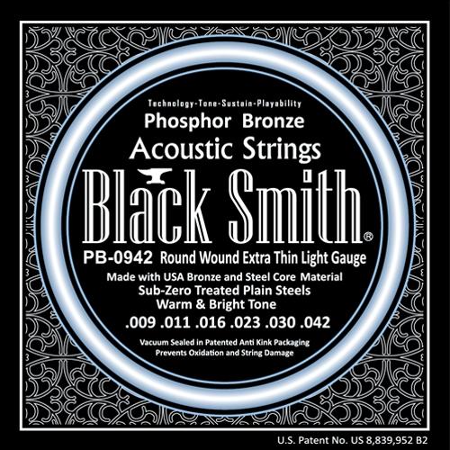 BlackSmith PB-0942 Akoestische Gitaarsnaren Phosphor Bronze (9-42