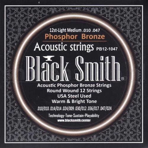 Blacksmith snaren voor 12-snarige akoestische gitaar phosphor brons