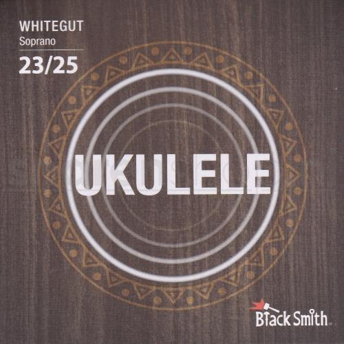 BlackSmith WG25S Whitegut Sopraan Ukulele Snaren (23-25)