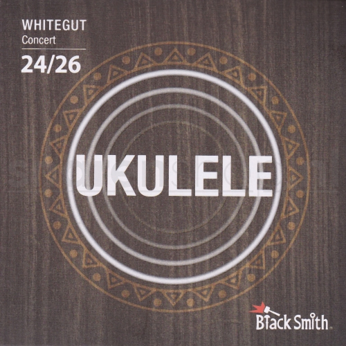 BlackSmith WG26C Whitegut Concert Ukulele Snaren (24-26)
