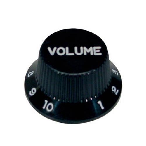 Boston KB-244-V Volume Knop Zwart voor Stratocaster
