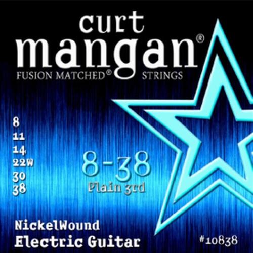 Curt Mangan 10838 Nickelwound Snaren voor Elektrische Gitaar (8-38)