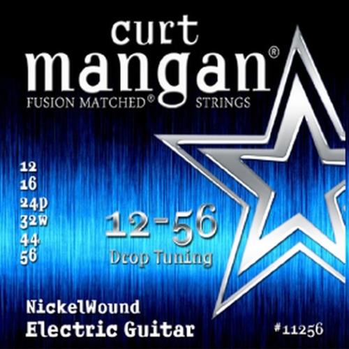 Curt Mangan 11256 Drop Tuning Nickelwound Elektrische Gitaarsnaren (12-56)