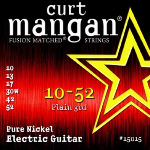 Curt Mangan 15015 Pure Nickel Elektrische Gitaarsnaren (10-52)