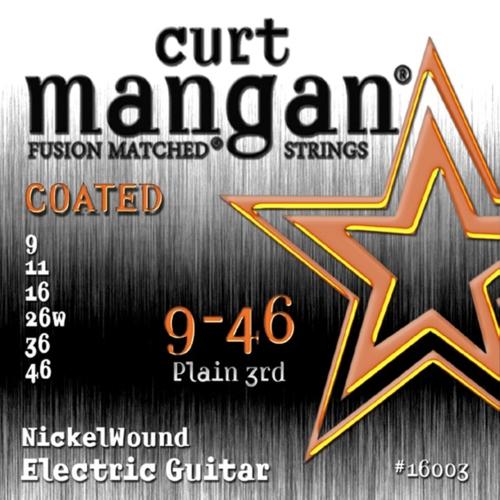 Curt Mangan 16003 Elektrische Gitaarsnaren Coated (9-46)