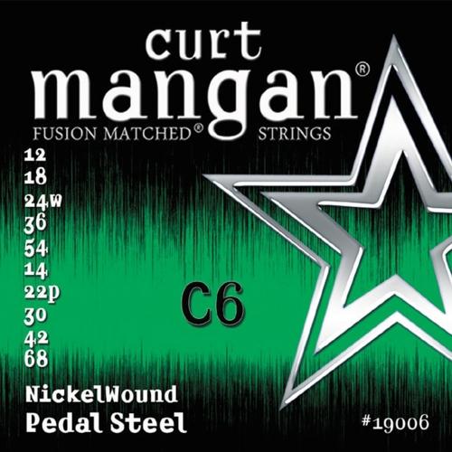 Curt Mangan 19006 Pedal Steel Snaren C6th