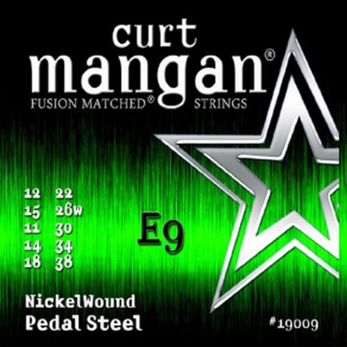 Curt Mangan 19009 Pedal Steel Snaren E9th (12-38)