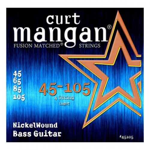 curt mangan nickelwound bassnaren 045