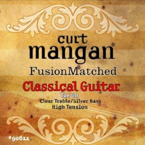 Curt Mangan 90611 Snaren voor Klassieke Gitaar - Hoge Spanning