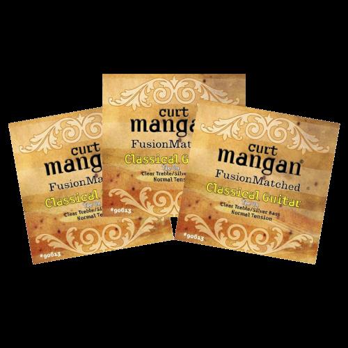 Curt Mangan 90613 Snaren voor Klassieke Gitaar - Normale Spanning 3-Pack