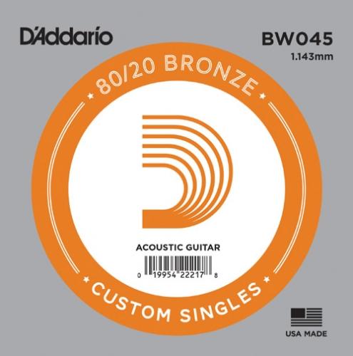 D'Addario BW045 Bronze .045 Losse Snaar