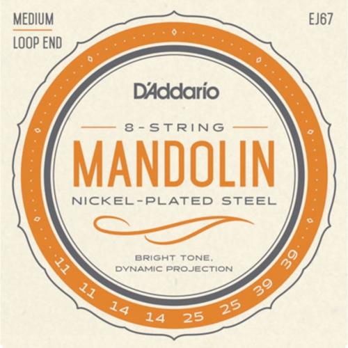 D'Addario EJ67 Mandoline Snaren (11-39)
