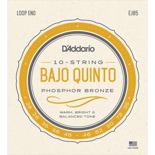 D'Addario EJ85 Snarenset voor Bajo Quinto (26-36)