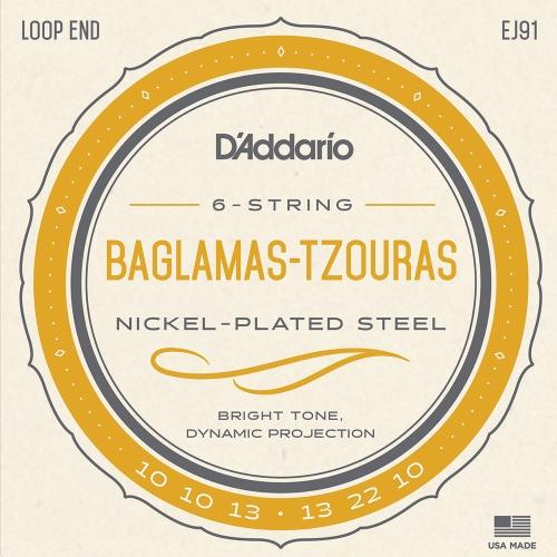 D'Addario EJ91 Baglamas Tzouras Strings