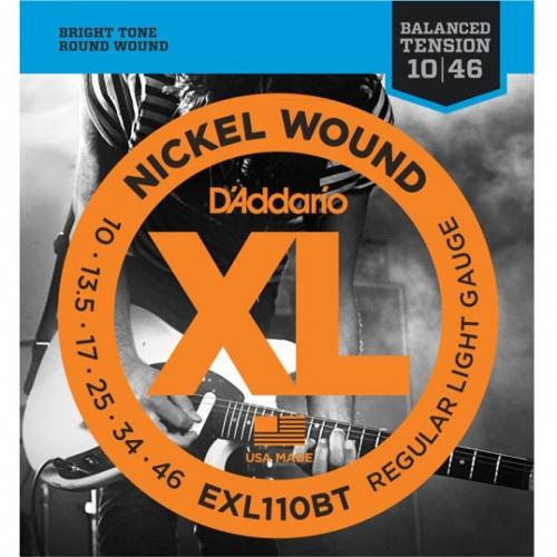 D'Addario EXL110BT Snaren voor Elektrische Gitaar (10-46)