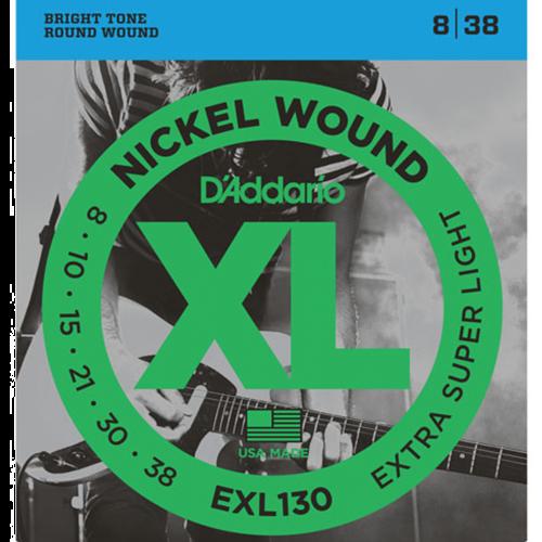 D'Addario EXL130 Snaren voor Elektrische Gitaar (8-38)