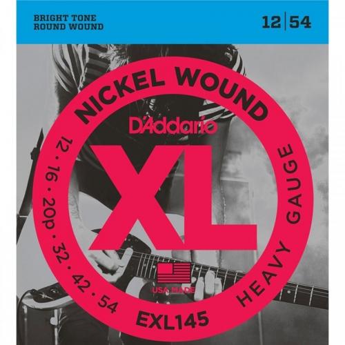 D'Addario EXL145 Snaren voor Elektrische Gitaar (12-54