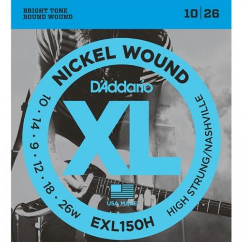 D'Addario EXL150H High Strung Nashville Tuning Gitaarsnaren (10-26)