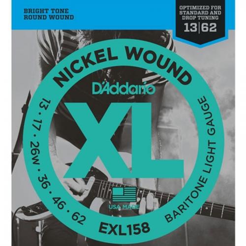 D'Addario EXL158 Snaren voor Baritone Gitaar (13-62)