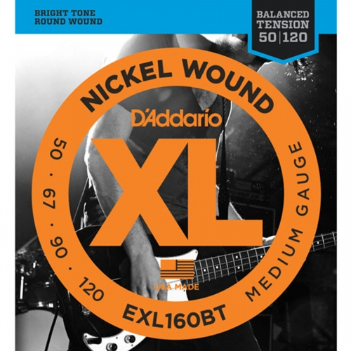 D'Addario EXL160BT Bassnaren Long Scale (50-120)