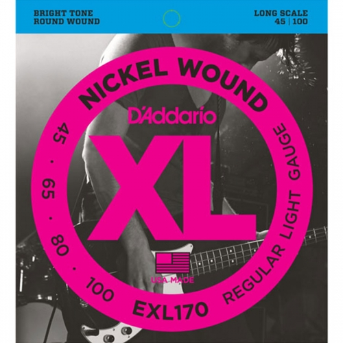 D'Addario EXL170 Bassnaren Long Scale (45-100)