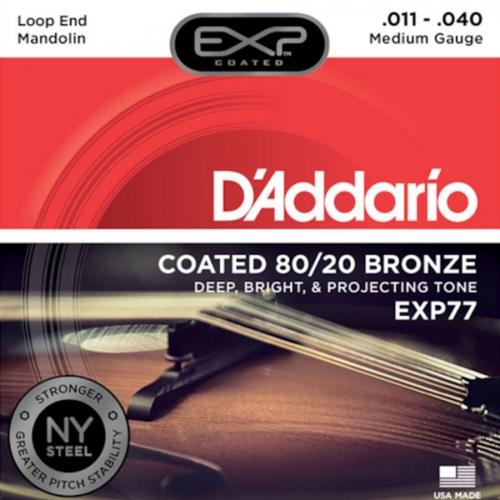 D'Addario EXP77 Mandoline Snaren (11-40)