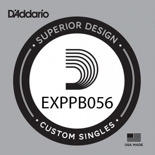 D'Addario EXPPB056 Coated Phosphor Bronze Acoustic Losse Snaar .056