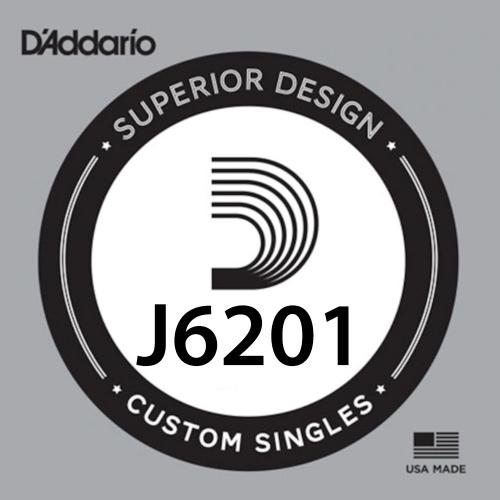 D'Addario J6201 Plain Steel Losse Mandoline Snaar .010