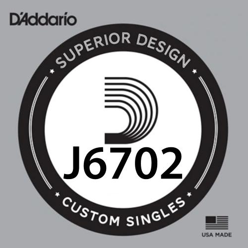 D'Addario J6702 Plain Steel Losse Mandoline Snaar .014