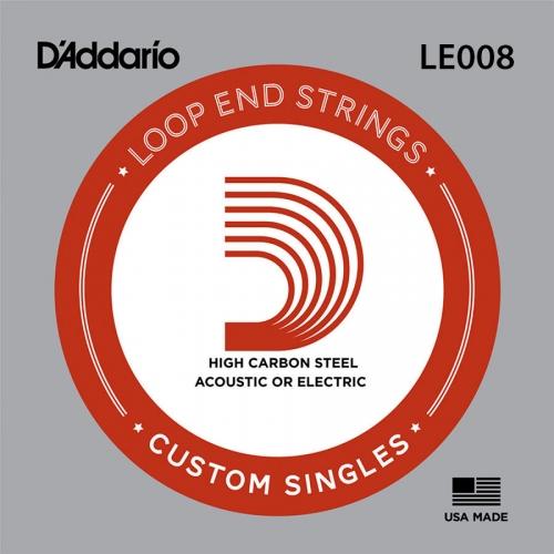 D'Addario LE008 Plain Steel Losse Banjo Snaar .008