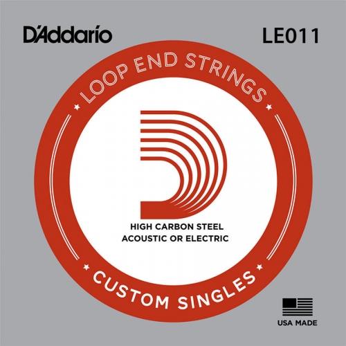 D'Addario LE011 Plain Steel Losse Banjo Snaar .011