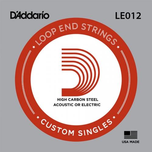 D'Addario LE012 Plain Steel Losse Banjo Snaar .012