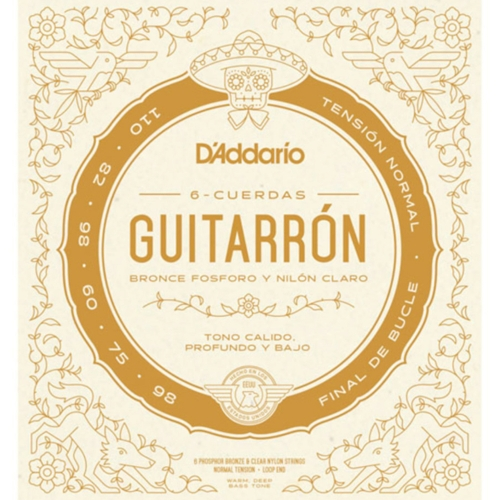 D'Addario MG10N Guitarrón Snaren - Normale Spanning